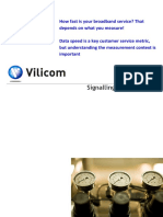 Speed Testing Mobile Broadband