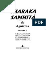 Agnivesa Charaka Samhita 2