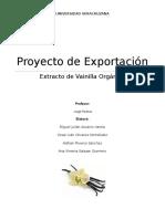 Proyecto Final de Comercio Exterior