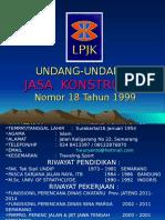 Uujk 18-1999 (Lpjk Jateng)