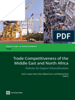 Trade Competitiveness of the Middle East and North Africa