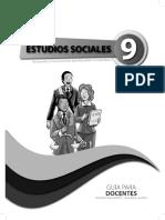 Guia de Docente Sociales 9no
