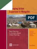 Managing Urban Expansion in Mongolia