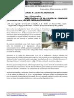 Nota de Prensa Nº 832 - 23oct16-d