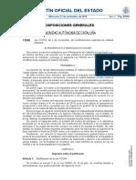 Normativa tributaria comunidad de Cataluña