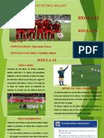 Reglas de Juego Fútbol