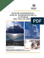 Plan Regional de Contingencia - Volcán Ubinas