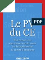 Le PV de CE - Premier Chapitre