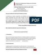 GUIA PARA ELABORAR PROYECTO EDUCATIVO DE CENTRO-versión OCTU09