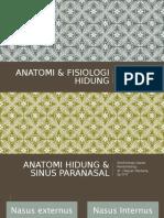 ANATOMI & FISIOLOGI hidungg