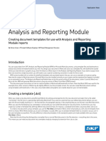 CM3137 en Analysis and Reporting Module