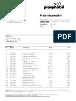 Preisinformation - Nr. 1002610522