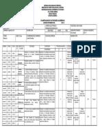 Formato de Plan de Actividades Unefa 2016-1s