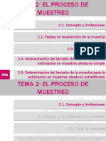 T3 MUESTREO- ESTIMADORES