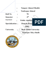 Adnan Athar OGDCL Internship report IMS BZU MULTAN