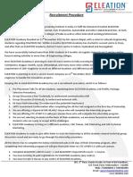 ELEATION Recruitment Procedure (2)