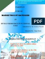 Marketing At TELENOR Pakistan