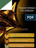 Tranformacion Urbana