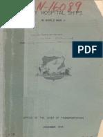 WWII 1944 Hospital Ships History