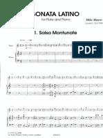 Mower - Sonata Latino, Pno