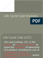 Lifecycle Costing CASE STUDY REF