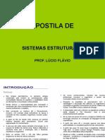 Apostila de Sistema Estruturais I BASICO Original