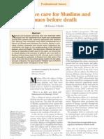 palliative care in islam