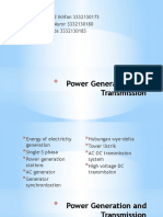 Power Generation and Transmission (Tugas PISTEL)