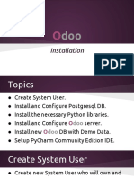 Lecture 2 Download and Install Odoo V8.0 With Demo Data on Ubuntu 14.04