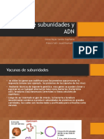 Vacunas de subunidades y ADN.pptx