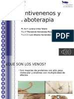 Antivenenos y Faboterapia