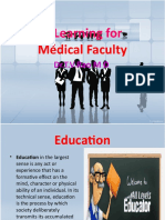 e-learning for Medical Faculty