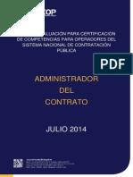 Guía de Evaluación Administrador Del Contrato