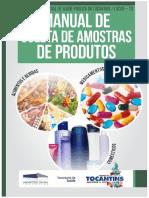 Manual de Coleta Amostra de Produtos 2015