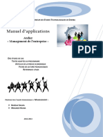 Manuel Application Atelier Management Entreprise