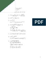 Mathematical Economics Practice Answers