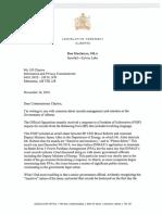 MacIntyre letter to Jill Clayton