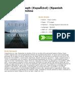 Aleph-Español-Spanish-Edition