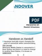 handover in GSM