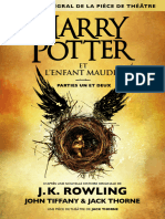 Harry Potter et l'Enfant Maudit - J.K. Rowling & John Tiffany & Jack Thorne.epub
