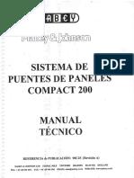 Manual Técnico Sistema de Puentes de Paneles Mabey & Johnson Compact 200