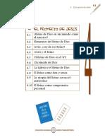 1. G4 El Proyecto de Jesús.