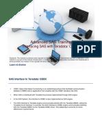ALBS - Interfacing SAS and TD