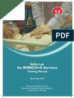 Skills Lab Training Manual