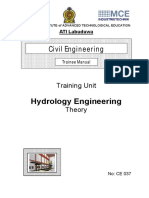 CE037 Hydrology Engineering RAJ 000