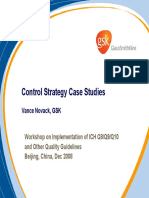 Control Strategy Case Studies