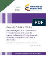 Ataque Cerebrovascular - GPC MPS