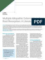 Multiple Idiopathic External Apical