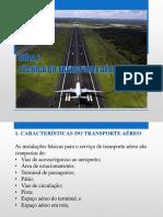 AEROPORTOS Aula 2 - Tecnica Do Transporte Aereo