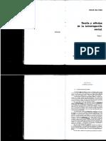 Galtun, J. Teoría y Método de La Investigación Social. Cap. 1